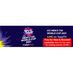 Yupp Tv  - T20 World Cup Package Special