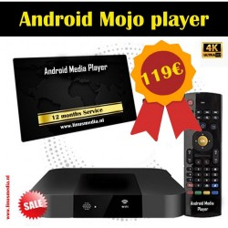 Android 4K MOJO BOX   + 12 MONTHS SERVICE